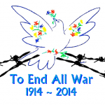 WWI campaign logo title