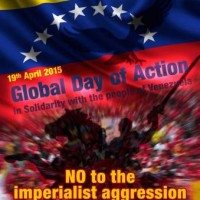 Peace Congress Petition Campaign Opposes Interference in Venezuela