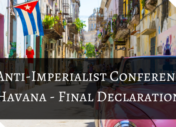 Anti-Imperialist Conference - Havana - Final Declaration